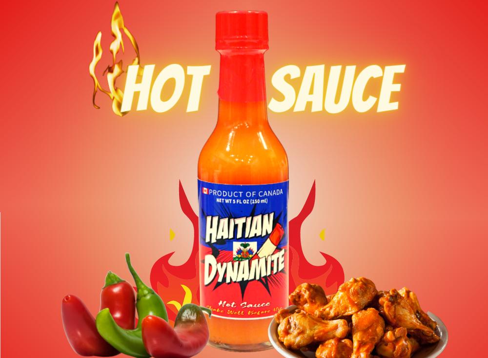 Haitian Dynamite Hot sauce