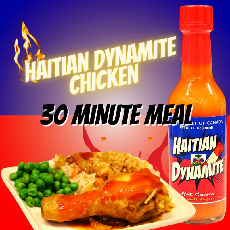 haitian dynamite chicken